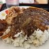 カレーと牛丼のコラボレーション!!  @一宮 松屋 カレギュウ(並)
