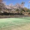 体調はイマイチですが・・無理しない程度に・・・テニスの練習に行ってきました~(^^;)