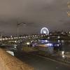 ロンドン・パリ旅行記#15 夜のパリを歩く エッフェル塔と凱旋門のライトアップ