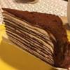 【チェーン店】ドトール パリパリチョコミルクレープ
