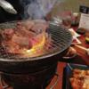 三重県伊勢市 炭焼肉丸 目が開けられないレベルで煙かった