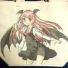 例の、バッグの絵が完成しました~☆、しかし、解説無しでガンガン載せるよ!
