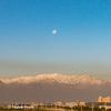 2016年日本の旅 (42) サンチアゴから見えるアンデス山脈