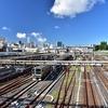 青空と電車