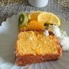 久々の自宅女子会。レモンのパウンドケーキでおもてなし。
