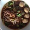 チェンマイ昼麺部 その14 クイッティアオ ヌア チャーン モーイ カーフェー