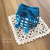 #ワッフル編み 模様のヒミツ