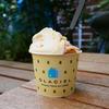 生グラス専門店GLACIEL(グラッシェル)でマンモスおいPアイスクリームとランチを食べたヨ!