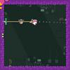 【アプリ】ロープを伸ばして天井や壁をつたいながらクリアしていくゲーム『Grab Lab』
