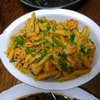 アボカドのパスタ⑤大皿ごちそうパスタ