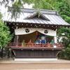 堤方神社の例大祭で、奉納神楽の演舞!