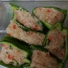 【お弁当】秋田のグリーンパンツで肉巻き