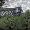 安芸武田氏ゆかりのお寺、立専寺の紋瓦は武田氏家紋の花菱です。