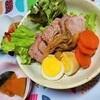 野菜のだしで煮る、焼き豚の作り方。おススメの料理酒と味醂。