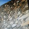 玉藻城の石垣修理終わる。