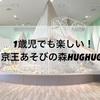 1歳児でも楽しめる!京王あそびの森HUG HUG(ハグハグ)の紹介