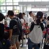 キッザニア甲子園一部 小学校創立記念日(6月下旬&平日&火曜日)の混雑状況
