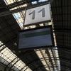 フランサ駅は広く静かで不思議な空気感