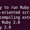 Ubuntu Server 14.04 LTS amd64 - install Ruby 2.0 and ruby-libvirt