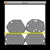 結束された鋼材の積み上げ荷姿シミュレーション(モドキね)
