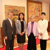 中国大使館  友好交流部参事官  汪婉大使夫人との会見     日本道観の道教交流