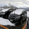 フリードプラス(FREED+)のFF車で、初めての雪道走行