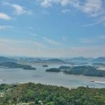 「儒達山(ユダルサン)」~途中の展望台、頂上からの木浦(モッポ)の街並、美しい海と島々を展望!!