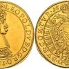 神聖ローマ帝国1662年レオポルト1世5ダカット金貨