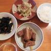 豚リブ肉の黒酢煮