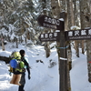 厳冬期の北八ヶ岳・・・風は冬  陽射しは春