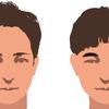 人の印象は髪型とまゆ毛でかなり左右される(脱オタ)