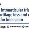 ACPJC:治療 変形性膝関節症患者では関節内ステロイド注射は鎮痛効果がない