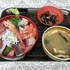 神奈川区山内町 横浜中央卸売市場の「横浜魚市場卸協同組合 厚生食堂」で海鮮丼