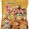 「昼のミレービスケット生姜味」想像以上に生姜が効いてる!