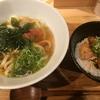 新大阪駅でランチ! とり天丼とおうどんセット