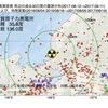 敦賀原子力発電所周辺の地殻変動と地震活動 (2017年09月11日現在)