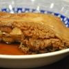 豊洲の「米花」でなめたかれい煮付け、白滝と真子煮、ひじき煮、ふき辛子和え。