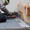 屋根貼りの前工事
