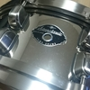 Pat Torpey Signature Snare(SAS455PT) 2003 Japan Clinic Tour Anniversary Modelを手に入れたので、ヘッドとスナッピーを交換した。