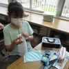 5年生:家庭科 玉どめ、玉結び