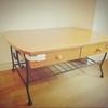 【断捨離・家具】ローテーブルを断捨離&子どもの靴を丸洗い!