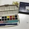 【おすすめ】呉竹 水彩絵の具セット!この道具があれば初心者も水彩画に入門できる!
