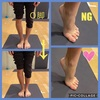 O脚と足の関連
