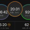Mペース走チャレンジその1 速い!