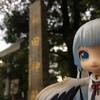 丹頂ミクさんと行く都内の神社【新田神社編】
