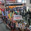 安倍とトランプは戦争と差別を撒き散らすな! トランプ・安倍の戦争会談反対!11.5新宿デモ