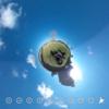 多摩川河川敷でのんびりしてみる? 360写真で体感! #360pic