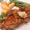 新宿の「ル・モンド」でステーキを食す!!