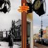 レーニン通りの有名な交差点にある時計???
