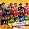 Fリーグ前座試合 golrira shizuoka×スポパラDFUT WINGS/女子フットサル静岡ダービー!